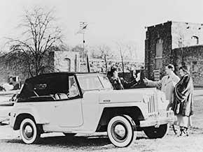 Die Weiterentwicklung des Civilian Jeep zum familientauglichen Freizeitauto floppte – nur knapp 20.000 Stück wurden gebaut.